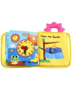 Soft Baby Cloth Book, Comfortable Infant Kids Early Development Cloth Book, Learning Educational Baby Cloth Book Toys