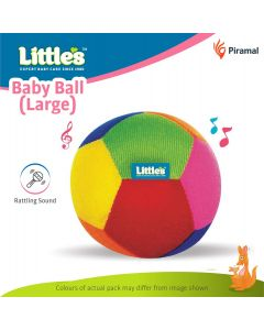 Soft Baby Ball with Rattle Sound (11 cm)
