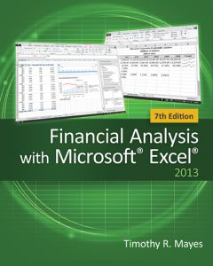 Financial Analysis with Microsoft® Excel®