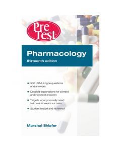 Pharmacology: PreTest Self Assessment and Review