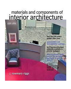Materials and Components of Interior Architecture IDSG 2317