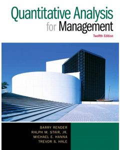 Quantity Analysis For Management 12th