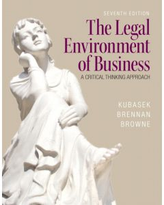 The Legal Environment of Business BMGT 3201