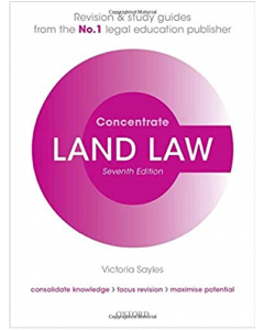 ebook Land Law Concentrate: Law Revision and Study Guide CIVIL 3301