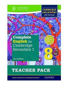 Complete English for Cambridge Sec 1 TP 8 (Cie Igcse Complete)
