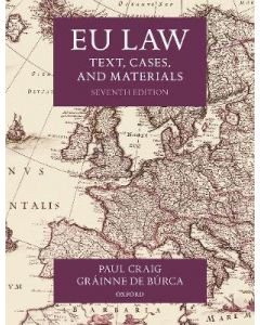 EU Law: Text, Cases, and Materials INTR 3301