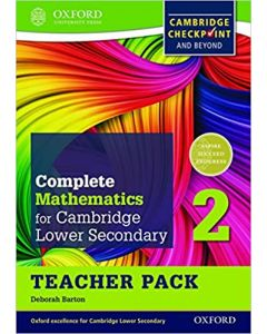 Complete Mathematics for Cambridge Secondary 1 Teacher Pack 2: Comprehensive Preparation for the Cambridge Checkpoint and Beyond