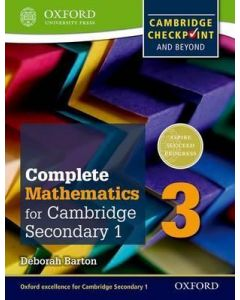Complete Mathematics for Cambridge Secondary 1 Student Book 3
