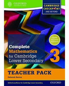 Complete Mathematics for Cambridge Sec 1 TP 3: Comprehensive Preparation for the Cambridge Checkpoint and Beyond