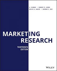 Marketing Research 13th Edition