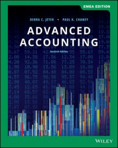Advanced Accounting ACCT 4302