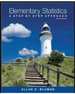 Elementary Statistics: A Step by Step Approach 9th Edition