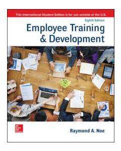 Employee Training & Development HCMG 3301