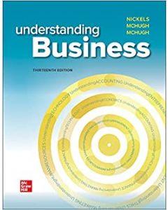 Understanding Business BBUS 1301