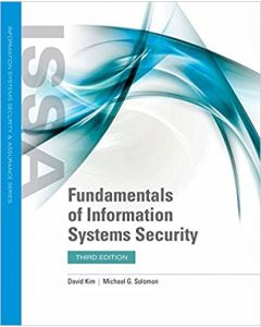 Fundamentals of Information Systems Security BSCY 3350