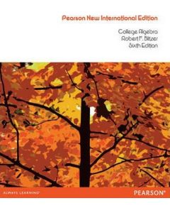 College Algebra: Concepts Through Functions MATH 1301