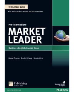 Market Leader Extra Pre-Intermediate w/DVD-ROM and MyLab English