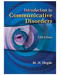Introduction To Communicative Disorder SLHS 1301