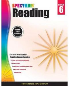 Spectrum | Reading Workbook | 6th Grade