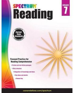 Spectrum | Reading Workbook | 7th Grade
