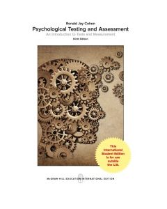 ebook Psychological Testing and Assessment: An Introduction to Tests and Measurement HPSY 3304