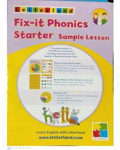 Letterland Fix-it Phonics Sample Lessons