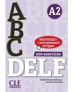 ABC DELF: Livre A2 + CD + Entrainement en ligne (French )