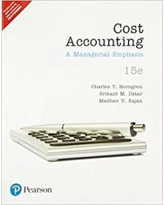Cost Accounting 1st Edition