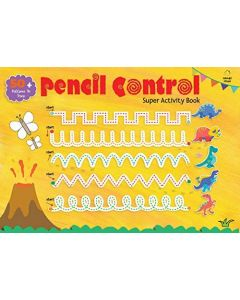 Pencil Control Super Activity Book