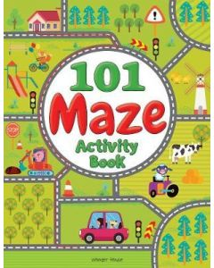 101 Maze Activity Book: Fun Activity Book For Children