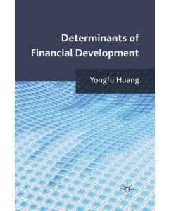 Determinants of Financial Development ebook