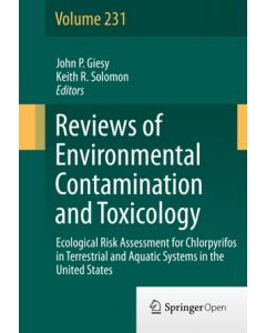 Ecological Risk Assessment for Chlorpyrifos in Terrestrial and Aquatic Systems in the United States ebook
