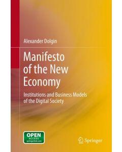 Manifesto of the New Economy ebook