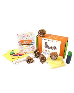 Shumee Wooden Stamps (3 Years+) - Educational Toys (Spring Stamps)