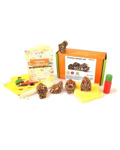 Shumee Wooden Stamps (3 Years+) - Educational Toys (Fantasy Stamp Set)