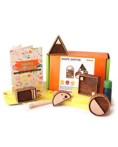 Shumee Wooden Stamps (3 Years+) - Educational Toys (Shape Shifter Stamp)