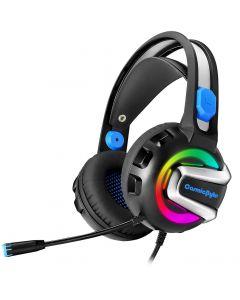 Cosmic Byte G3300 Saturn Rings Gaming Headphone with Mic (Blue)