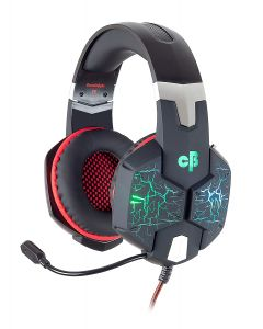 Cosmic Byte G1500 7.1 Channel USB Headset for PC with RGB LED Lights (Black/Red)