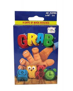 Trunk Works Grab - A Game of Quick Reflexes, React and Slam, Fun Family Card Game