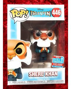 Funko Pop! Disney Tale Spin Shere Khan Plotting with Hands Together Fall Convention Exclusive Figure