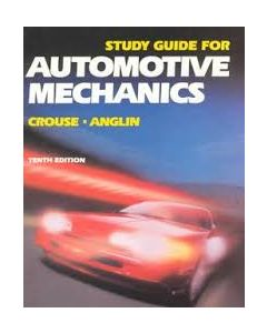 Automotive Mechanics, Study Guide