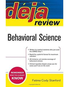 Behavioral Science 1st Edition