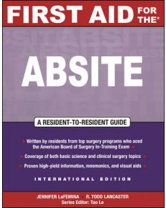 First Aid for the ABSITE (First Aid Specialty Boards)