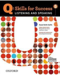 Q: Skills for Success 5 Listening and Speaking Student Book with Student Access Code Card
