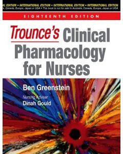 Trounces Clinical Pharmacology For Nurses