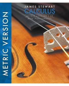 Calculus, Early Transcendentals, International Metric