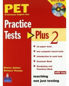 PET Practice Tests Plus 2: Book with CD-Rom (Key Included)