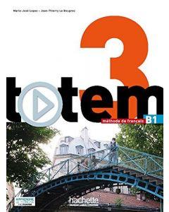 Totem 3: Livre de L'Eleve + DVD-ROM + Manuel Numerique Eleve: Totem 3: Livre de L'Eleve + DVD-ROM + Manuel Numerique Enrichi Pour L'Apprenant (B1) [Wi