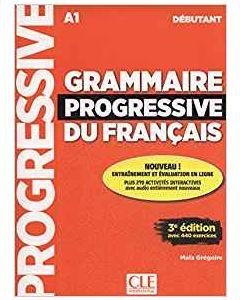 Grammaire progressive du francais - Nouvelle : Livre debutant + CD