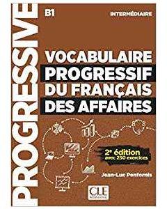 Vocabulaire progressif du francais des affaires 2eme : Livre + CD a23